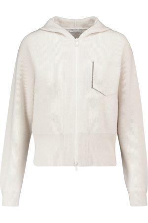 Brunello Cucinelli Verzierte Jacke aus Kaschmir
