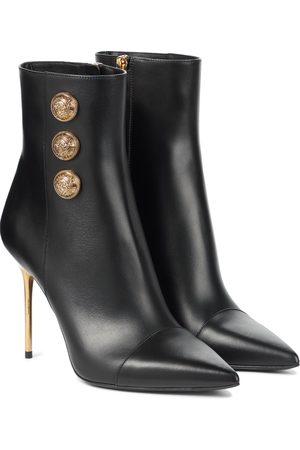 Balmain Damen Stiefeletten - Ankle Boots Roni aus Leder