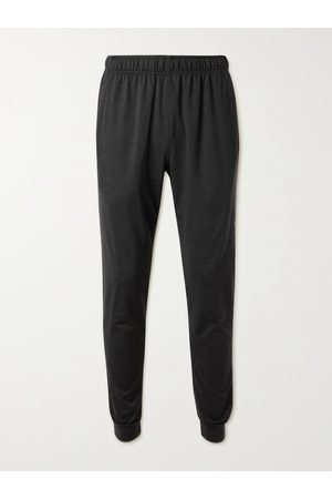 Nike Tapered Mélange Dri-FIT Stretch-Jersey Yoga Sweatpants