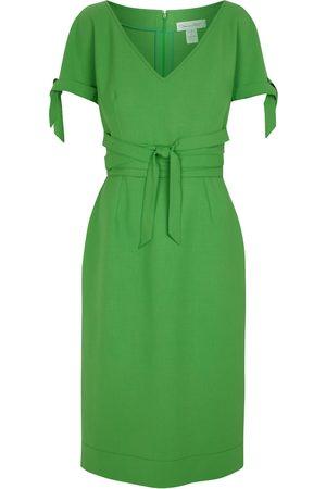 Oscar de la Renta Damen Midikleider - Midiekleid aus einem Wollgemisch