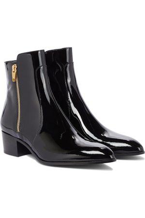Balmain Damen Stiefeletten - Ankle Boots Roxie aus Lackleder