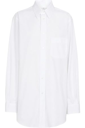 Maison Margiela Damen Blusen - Hemd aus Baumwollpopeline