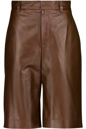 Brunello Cucinelli Shorts aus Leder