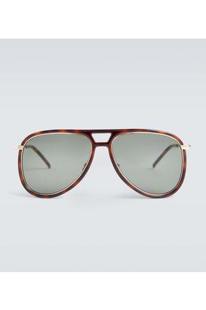 Saint Laurent Sonnenbrillen - Aviator-Sonnenbrille aus Acetat