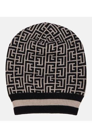 Balmain Damen Hüte - Beanie aus Merinowolle