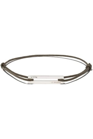 Le Gramme 17/10g' Armband - Silver/Khaki