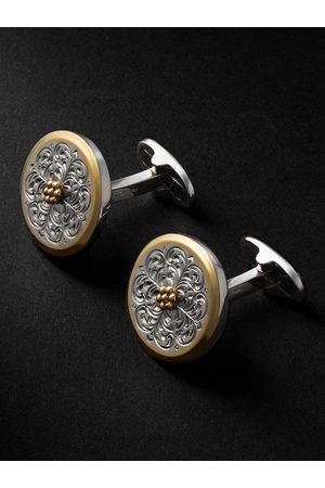 Buccellati Herren Uhren - Ornatino Small Gold-Plated and Cufflinks