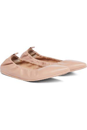 Gianvito Rossi Ballerinas aus Leder