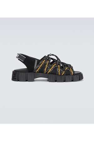 Fendi Sandalen aus Tech-Material