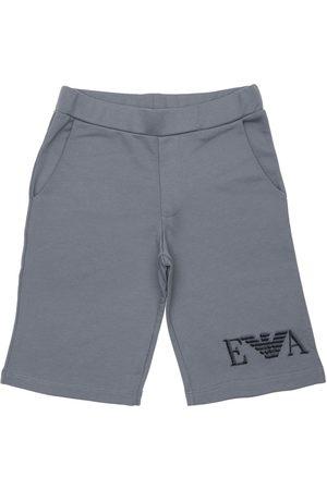 Emporio Armani Shorts Aus Stretch-baumwolle