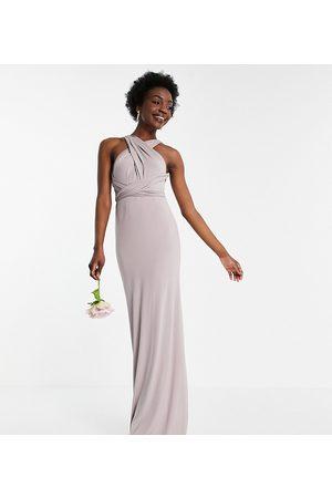 TFNC Tall – Bridesmaid – Maxikleid mit Multiway-Design in Marineblau