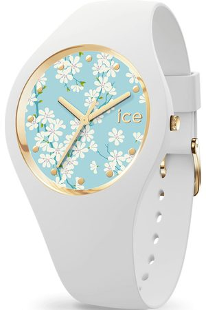 Ice-Watch Uhren - Uhren - ICE flower - White sakura M - 019202