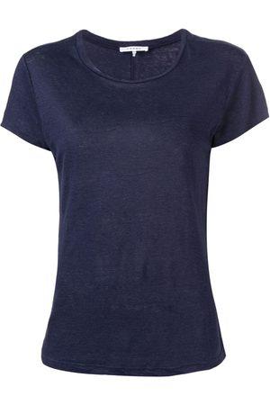 Frame T-Shirt mit rundem Ausschnitt