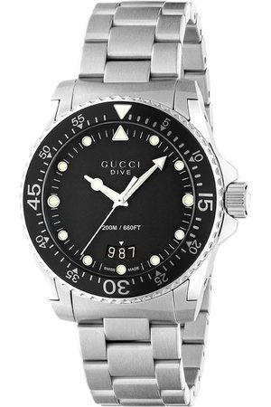 Gucci Dive' Armbanduhr, 40mm - Metallisch