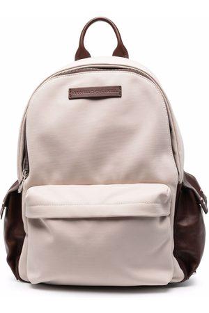 Brunello Cucinelli Rucksack mit mehreren Taschen