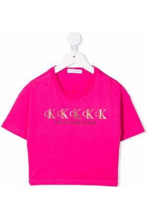 Calvin Klein T-Shirt mit Logo-Print