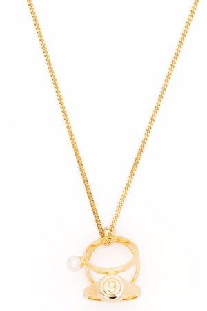 MM6 MAISON MARGIELA Halskette mit Ringen
