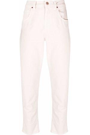 Brunello Cucinelli Klassische Slim-Fit-Jeans - Nude