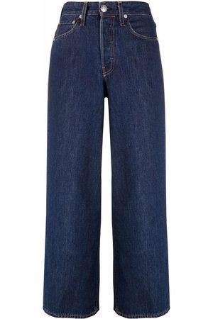 RAG&BONE Wide-legged cropped jeans