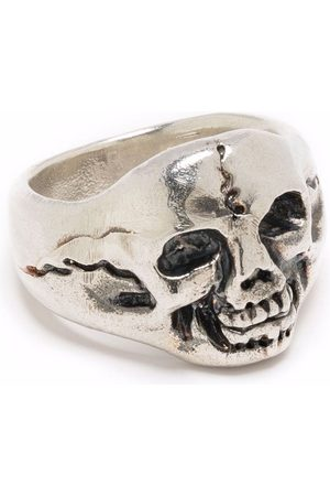 OUR LEGACY Cranium chunky ring