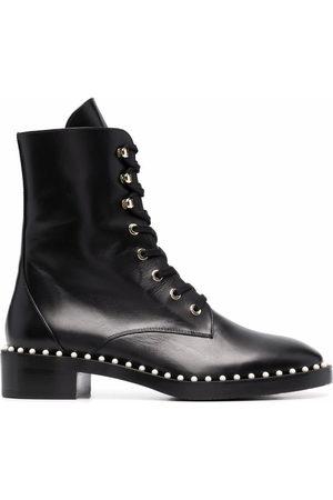 Stuart Weitzman Allie combat boots
