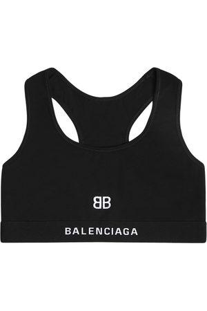 Balenciaga Damen Sport BHs - Cotton Jersey Sports Bra