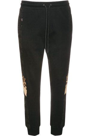 Dolce & Gabbana Herren Jogginghosen - Trainingshose Aus Baumwolle