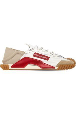 "Dolce & Gabbana Herren Sneakers - Sneakers Aus Mesh Und Wildleder ""ns1"""