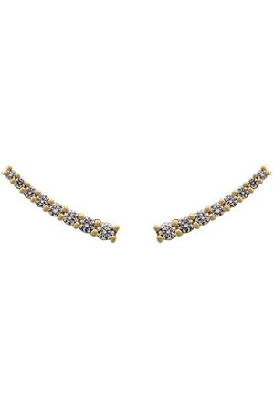 ALINKA 18kt 'Dasha' Gelbgoldohrring mit Diamanten