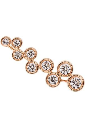 ALINKA Damen Ohrringe - 18kt 'Sasha' Rotgoldohrring mit Diamanten - Metallisch