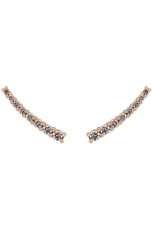 ALINKA Damen Ohrringe - 18kt Kleiner 'Dasha' Rotgoldohrring mit Diamanten