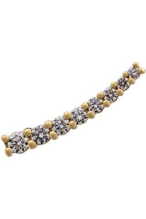 ALINKA Damen Ohrringe - 18kt 'Dasha' Gelbgoldohrring mit Diamanten - Metallisch