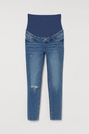 H&M Damen Skinny - MAMA Skinny Ankle Jeans
