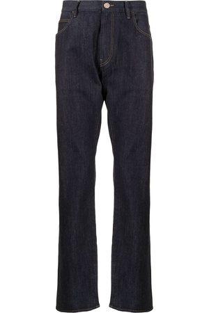 Giorgio Armani Slim-Fit-Jeans mit hohem Bund