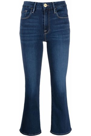 Frame Cropped-Jeans