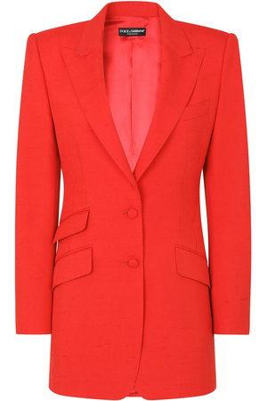 Dolce & Gabbana Damen Blazer & Sakkos - Blazer mit steigendem Revers