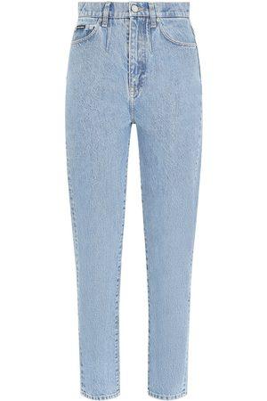 Dolce & Gabbana Ausgeblichene Cropped-Jeans