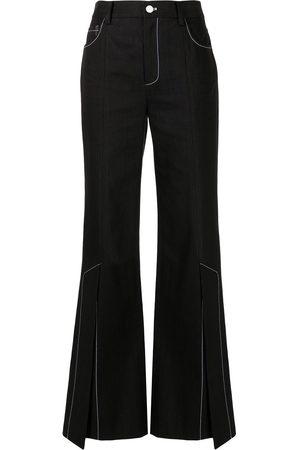 MONSE Damen High Waisted - High-rise bootcut jeans
