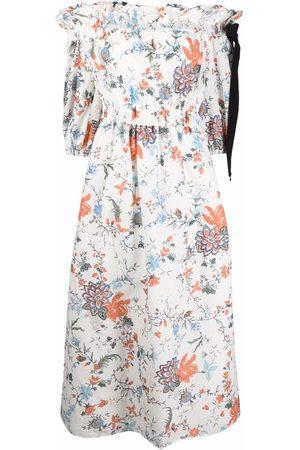 Erdem Augustus off-shoulder floral dress