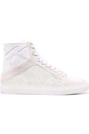 Zadig & Voltaire Klassische High-Top-Sneakers