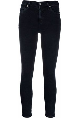 Citizens of Humanity Mid-rise cropped skinny jeans
