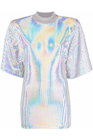 The Attico Holographic effect T-shirt