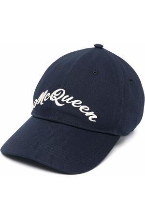 Alexander McQueen Embroidered-logo baseball cap