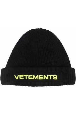 Vetements Embroidered-logo beanie