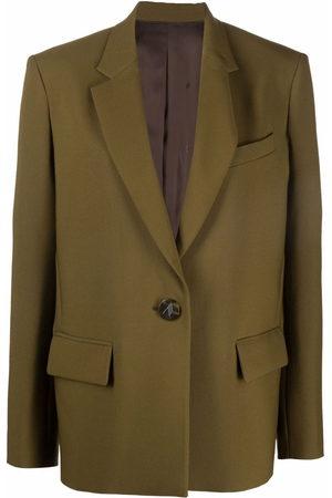 The Attico Single-breasted oversized blazer