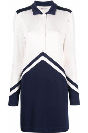Ports 1961 Damen Freizeitkleider - Panelled silk shirt dress
