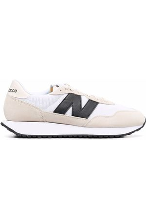 New Balance 237 panelled low-top sneakers - Nude