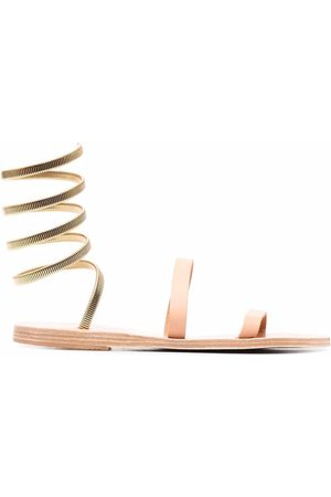 Ancient Greek Sandals Ofis Cantene leather sandals - Nude