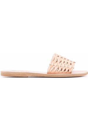 Ancient Greek Sandals Interwoven-strap sandals - Nude