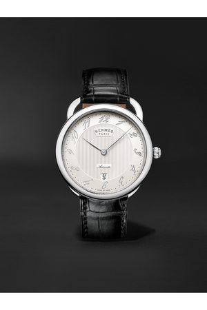 Hermès Arceau Automatic 40mm Stainless Steel and Alligator Watch, Ref. No. 055574WW00